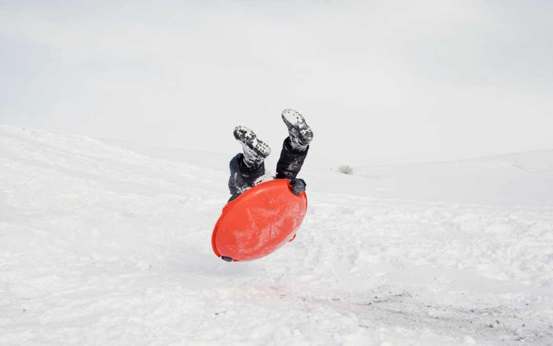 Sledding On The Western Slope